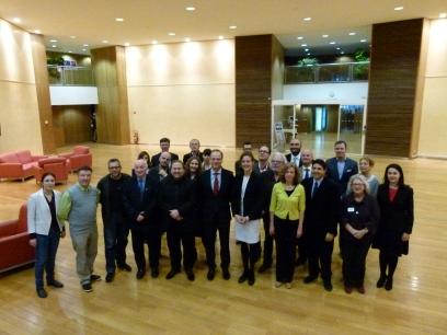 The EFA Board and EU Commissioner Tibor Navracsics